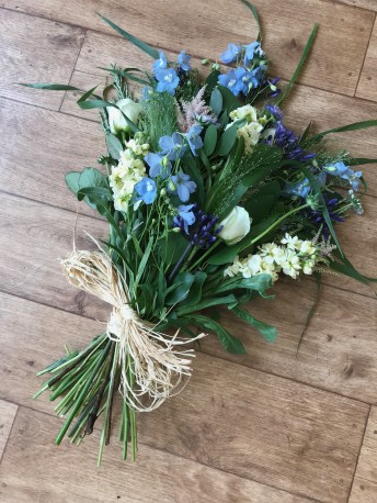 Traditional tied funeral sheaf
