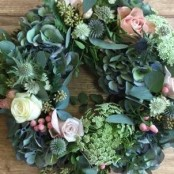 Bespoke funeral wreath