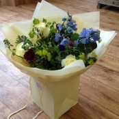 Cottage garden handtied bouquet